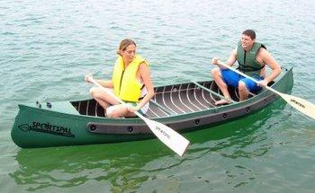 Sportspal 16' Canoe Package by Meyers #sportspal16
